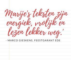 feestgarant ede tekstschrijver seo webteksten blogs marije catsburg