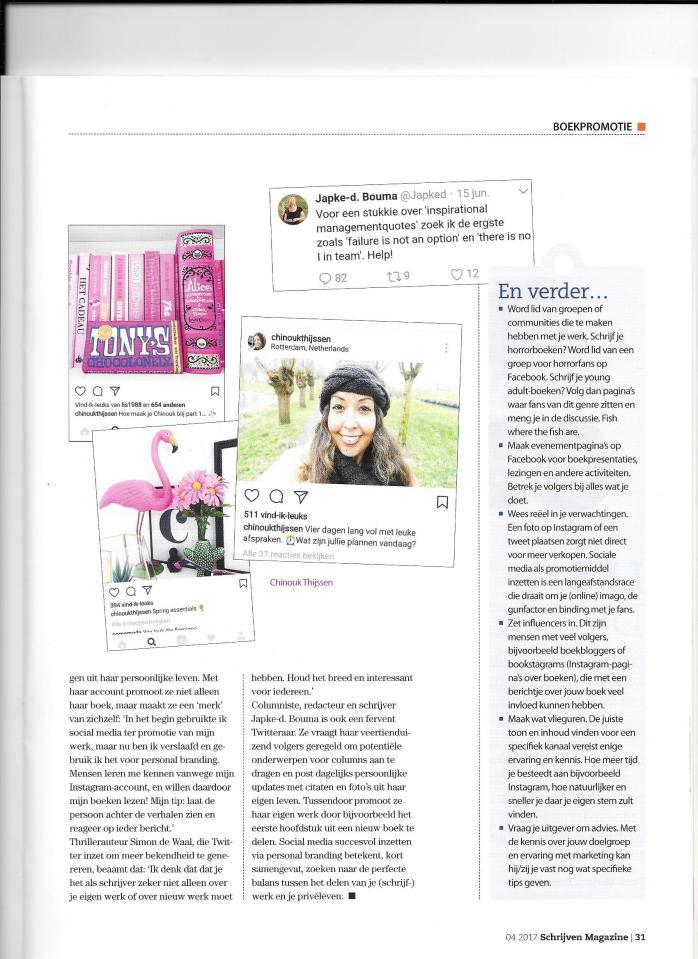 social media marketing schrijver personal branding artikel tekstschrijver ede veenendaal arnhem